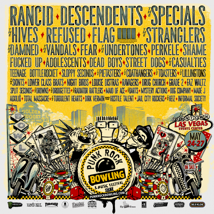 Punk Rock Bowling 2019 Festival Lineup