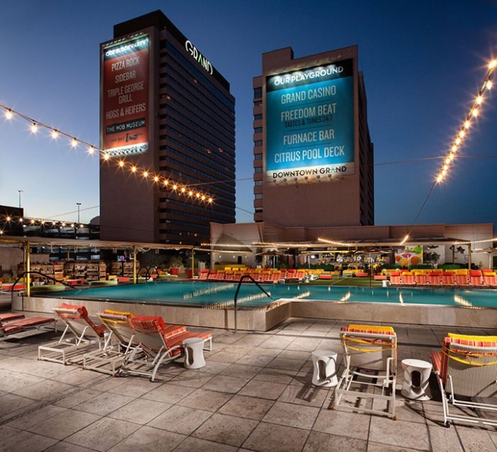 The Downtown Grand Pool