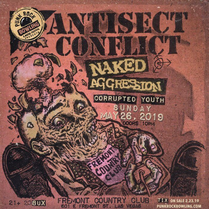 Antisect Conflict Punk Rock Bowling Club 2019 Show -5-26-FCC