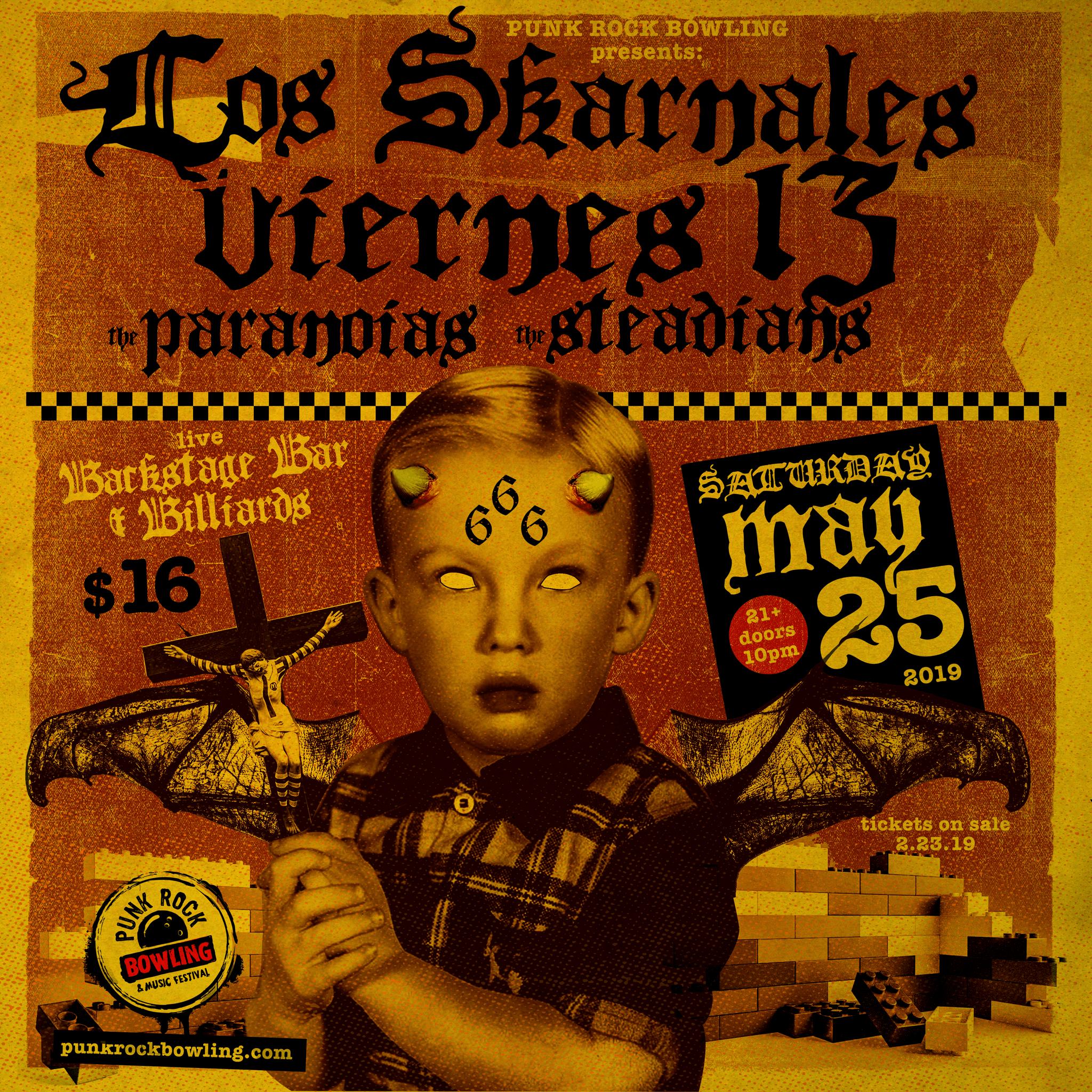 Los-Skarnales Punk Rock Bowling 2019 Club Show 5.25.19