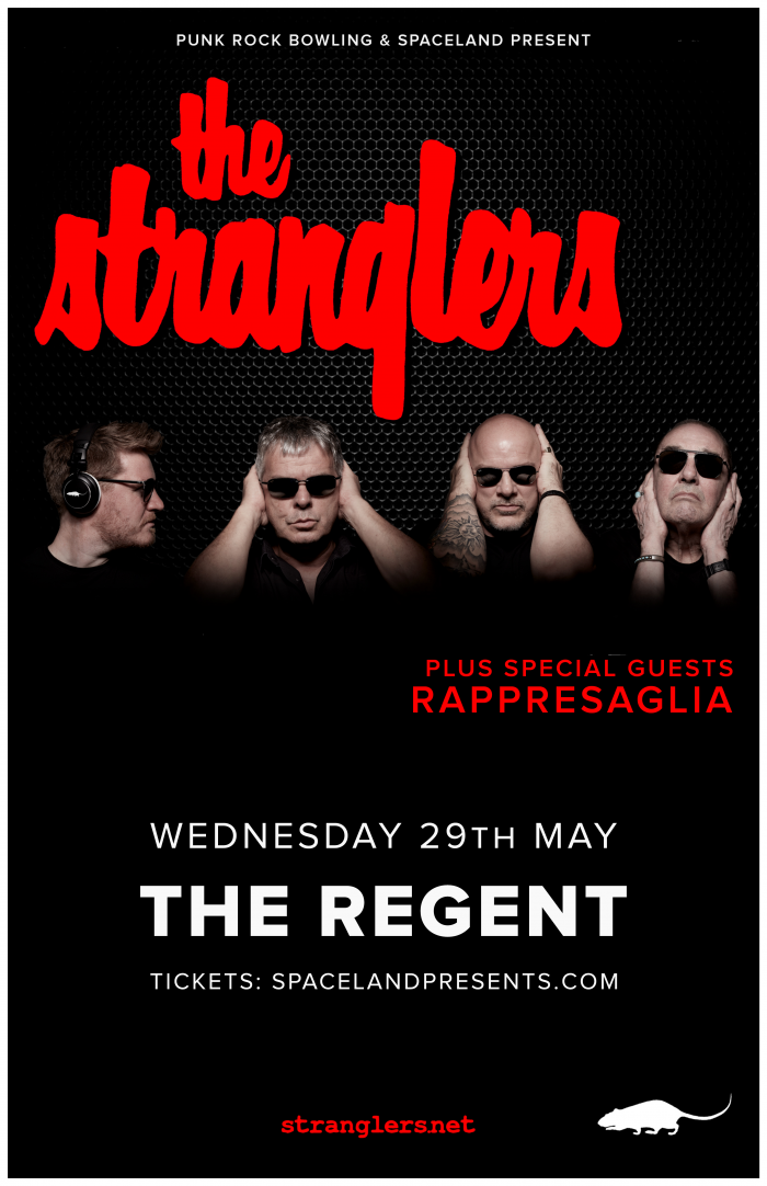 The Stranglers Presented By Punk Rock Bowling 2019 and Spaceland
