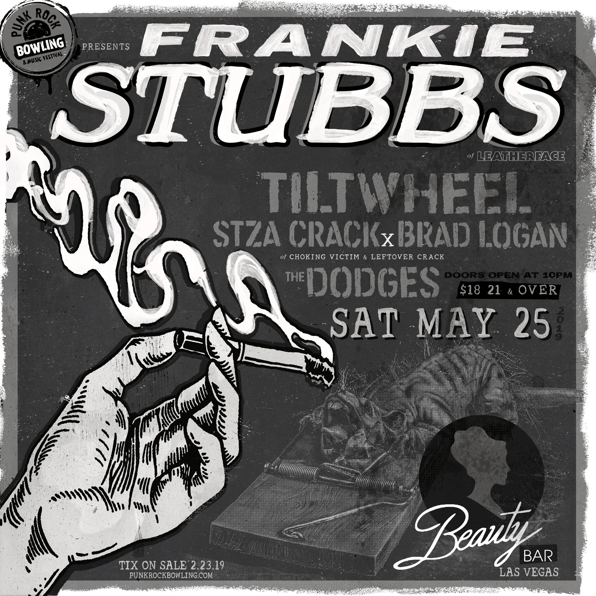 Frankie Stubbs Punk Rock Bowling 2019 Club Show