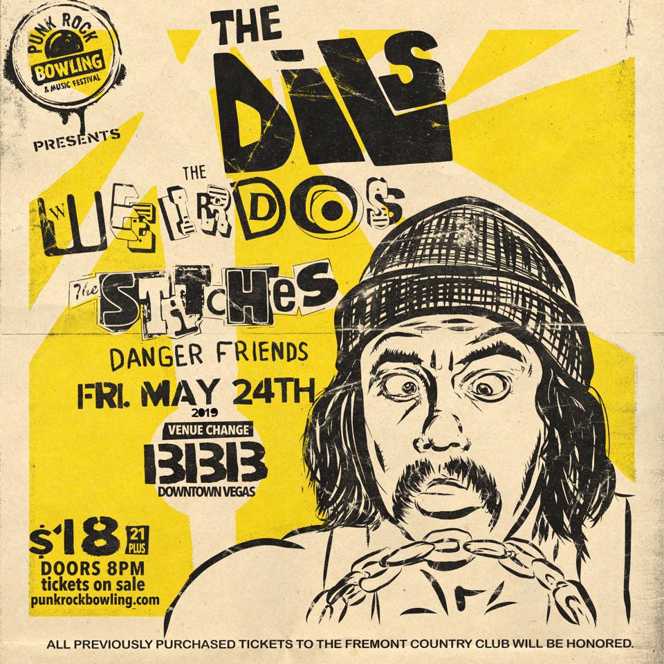 The-dils- Punk Rock Bowling 2019 Club Show Vegas 5-24-bBB