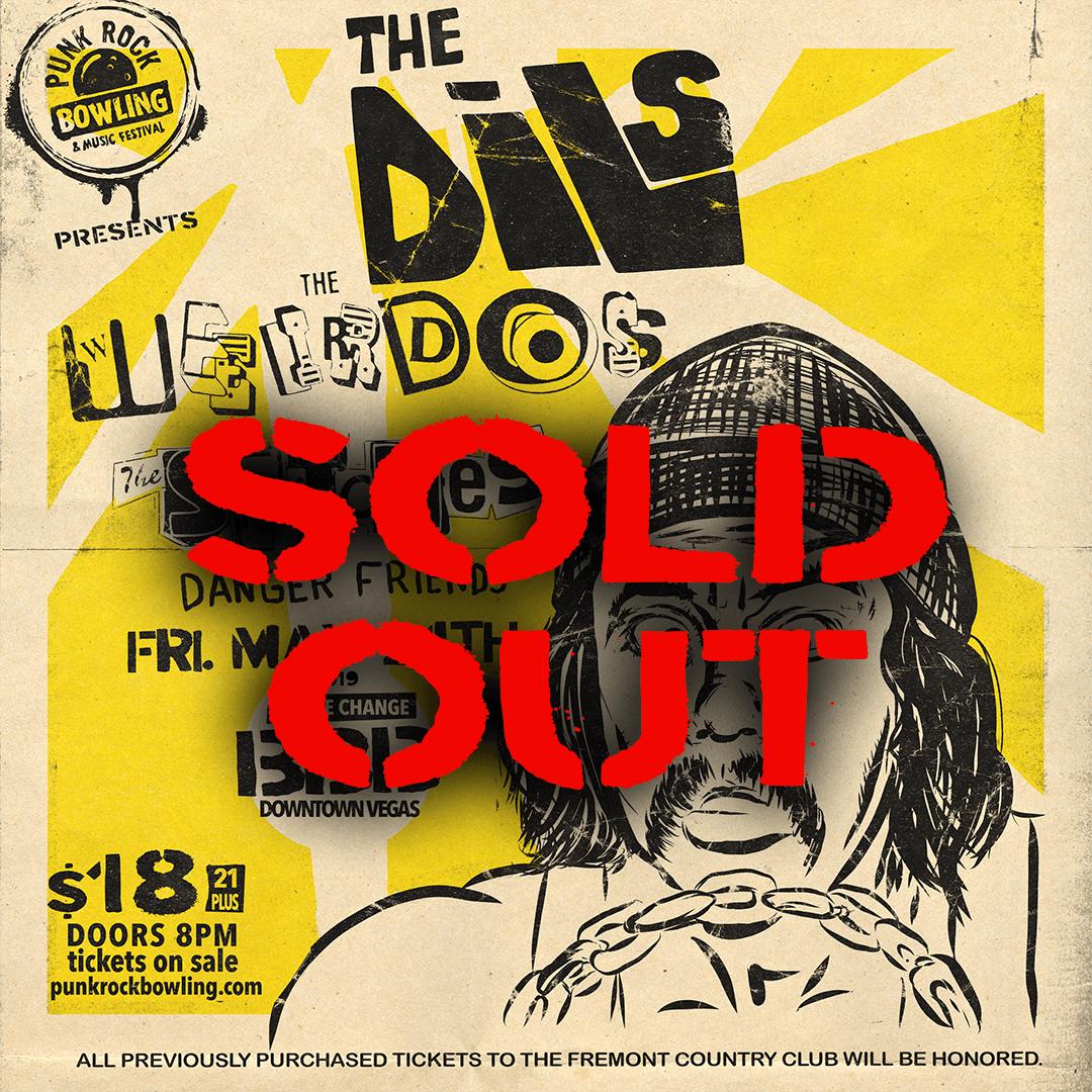 the Dils, the Weirdos, Punk Rock Bowling 2019 Club Show