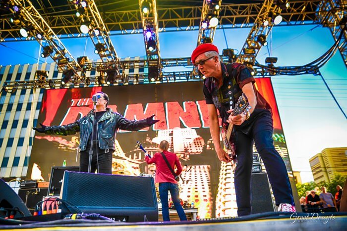 THE DAMNED Punk Rock Bowling 2019 Greet Druyts