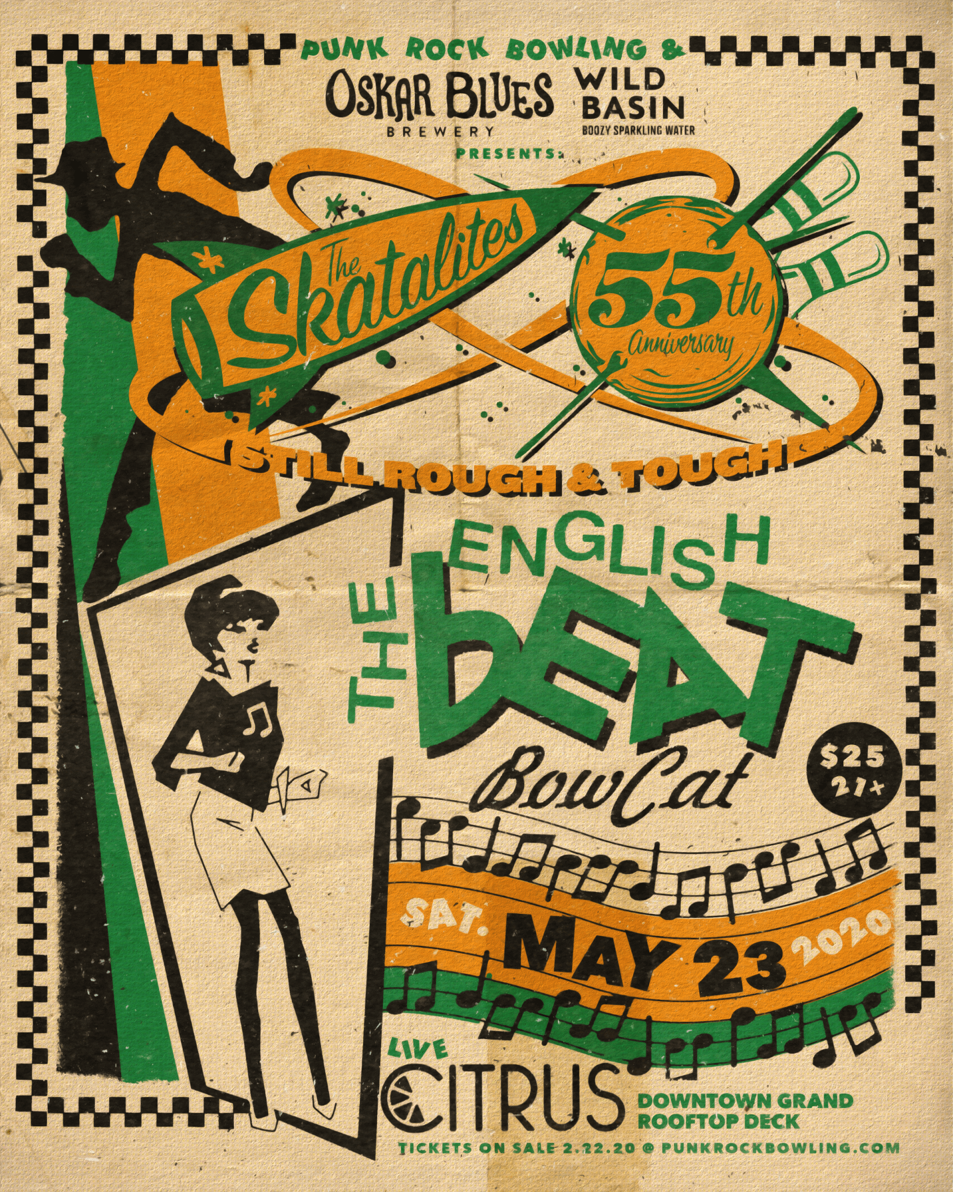 The Skatalites English Beat Punk Rock Bowling 2020 Las Vegas