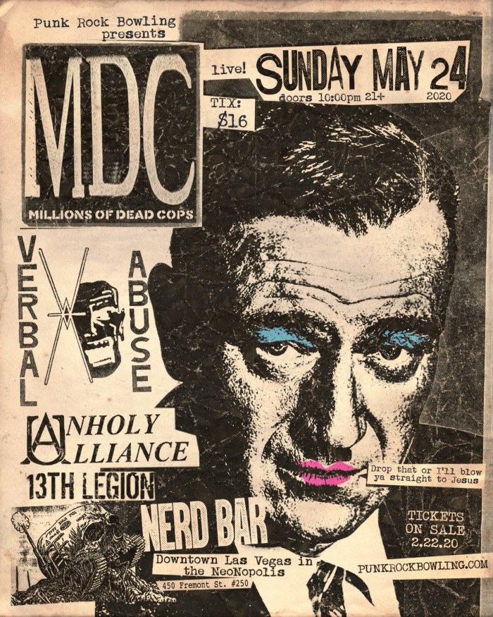 MDC Verbal Abuse Punk Rock Bowling 2020 Las Vegas