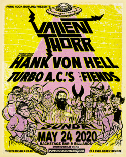 Valient Thorr Punk Rock Bowling 2020