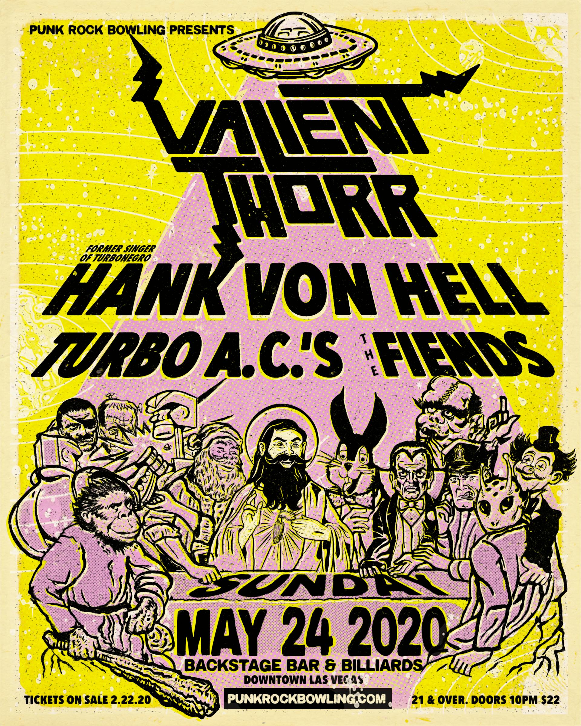 Valient Thorr Punk Rock Bowling 2020