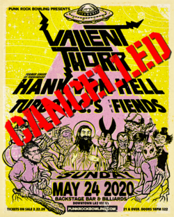 Cancelled : Valient Thorr Punk Rock Bowling