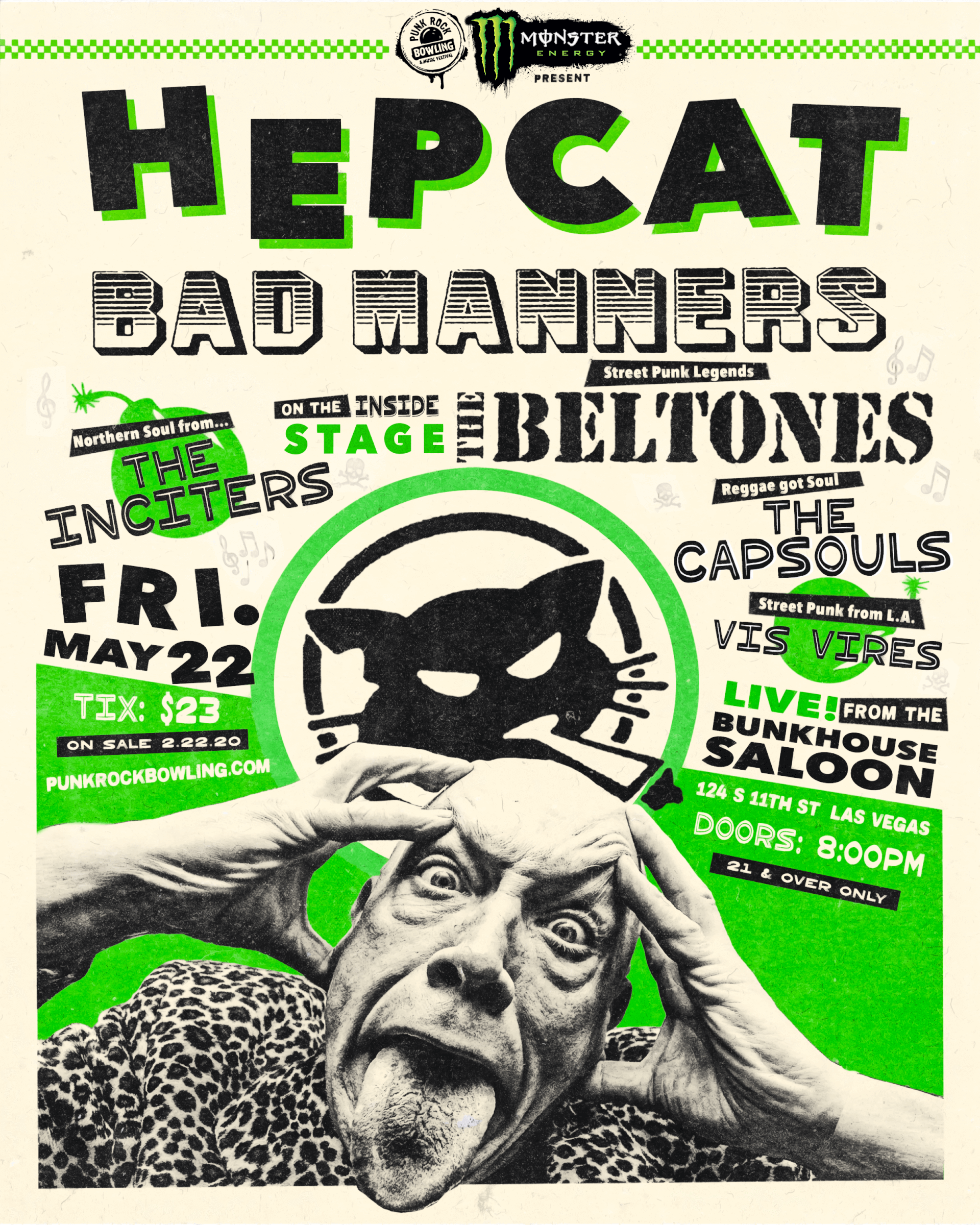 Hepcat-Bad-Manners-Punk Rock Bowling 2020 After Party Las Vegas