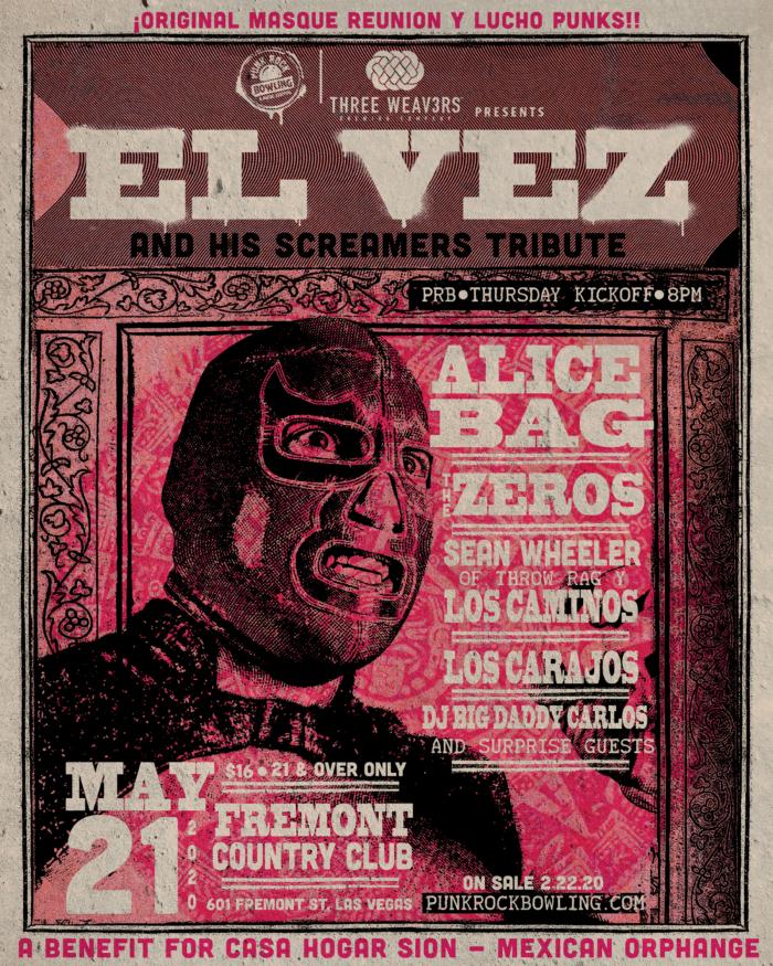 El-Vez-PUNK ROCK BOWLING