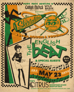 The Skatalites English Beat Punk Rock Bowling