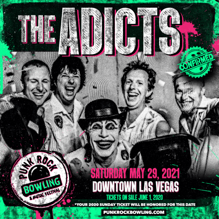 THE ADICTS PUNK ROCK BOWLING 2021