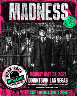 MADNESS PUNK ROCK BOWLING 2021