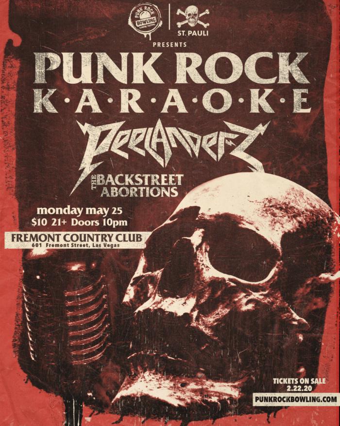 Punk Rock Karaoke Punk Rock Bowling 2020 Las Vegas