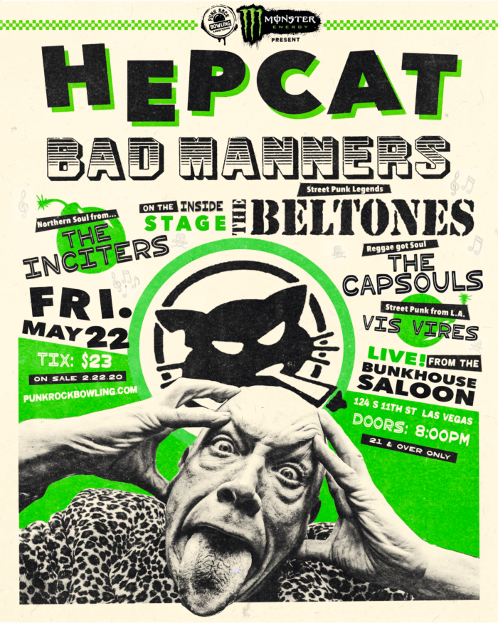 Hepcat-Bad-Manners Punk Rock Bowling 2020 After Party Las Vegas