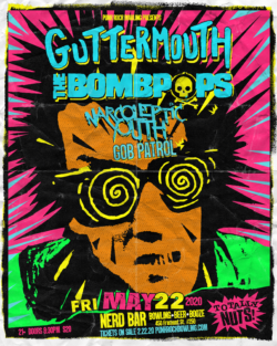 GUTTERMOUTH THE BOMBPOPS PUNK ROCK BOWLING 2020