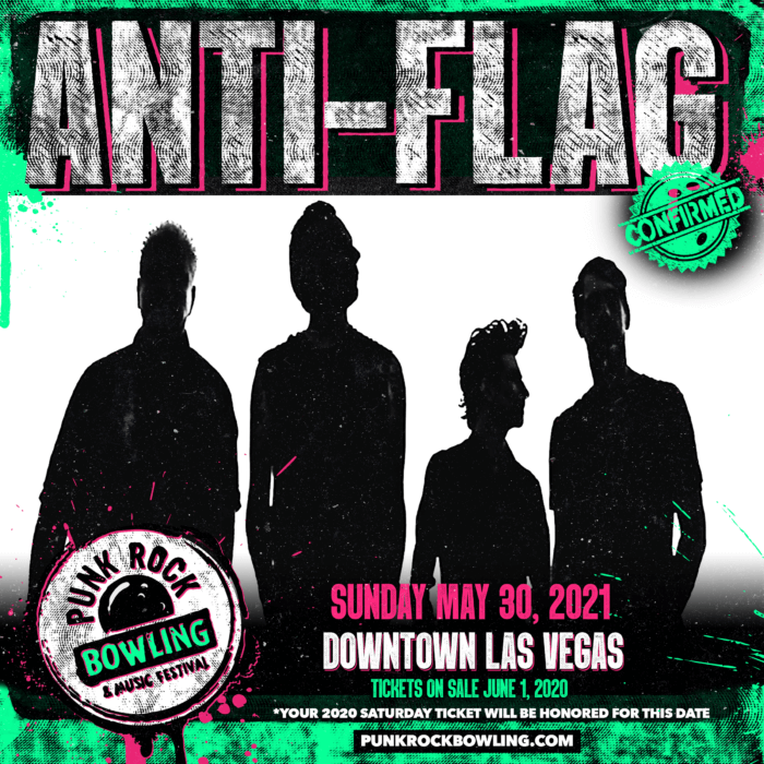 ANTI-FLAG PUNK ROCK BOWLING 2021
