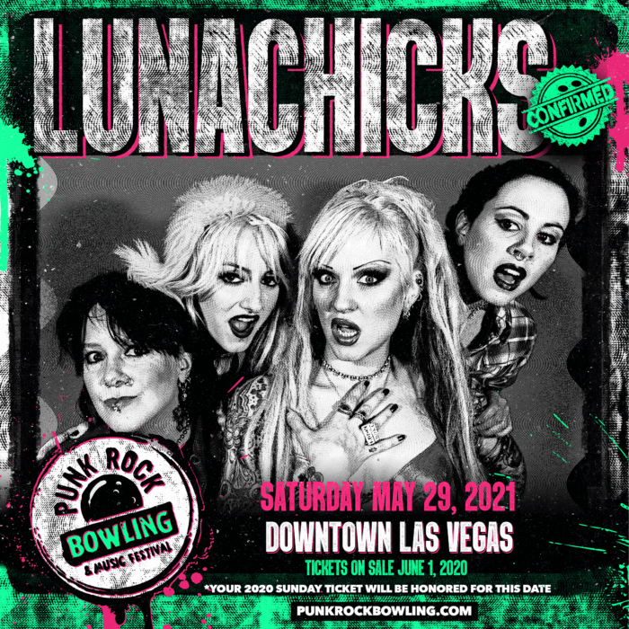 LUNACHICKS PUNK ROCK BOWLING 2021
