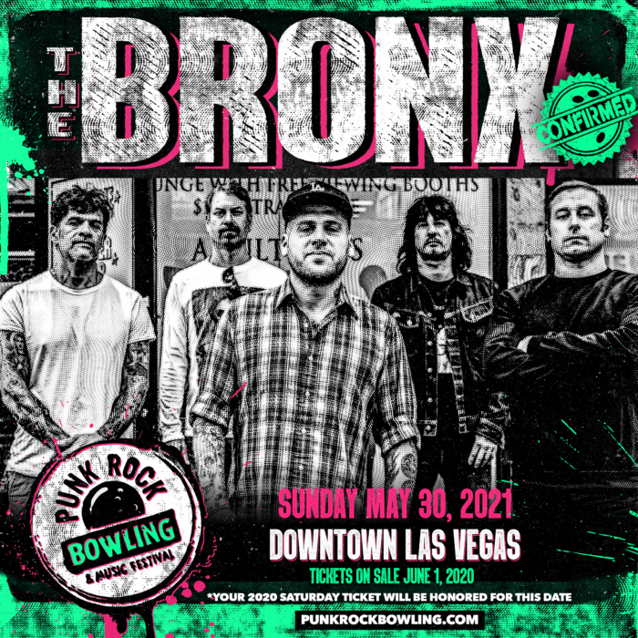 THE BRONX PUNK ROCK BOWLING 2021