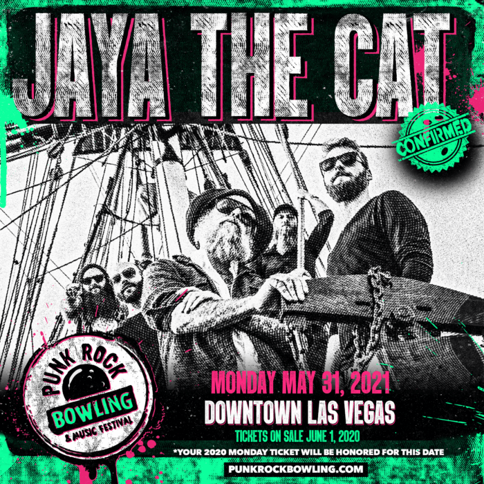 JAYA THE CAT PUNK ROCK BOWLING 2021