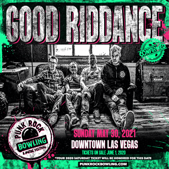 GOOD RIDDANCE PUNK ROCK BOWLING 2021