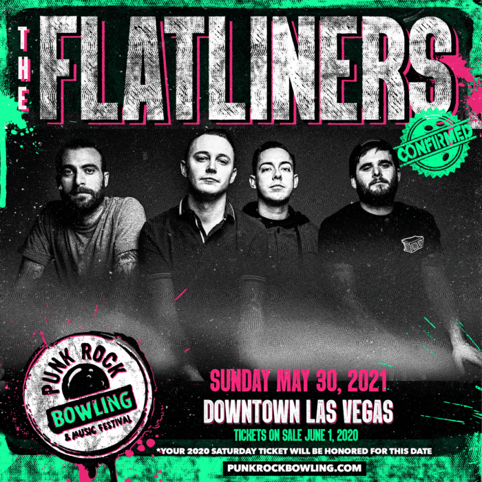 THE FLATLINERS PUNK ROCK BOWLING 2021