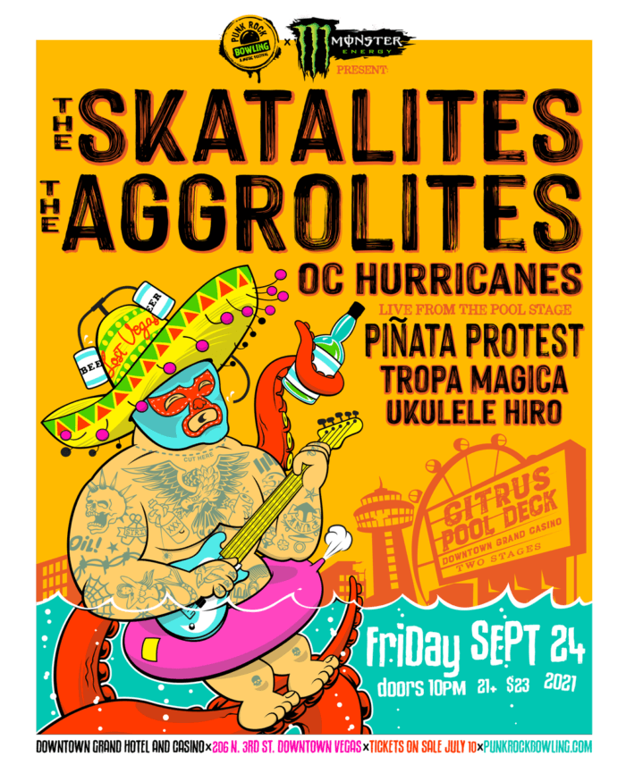 The Skatalites & The Aggrolites Punk Rock Bowling After Party