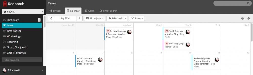 Editorial Calendar for Content Management