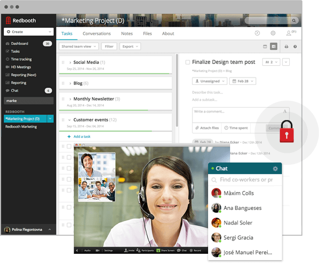 Redbooth online collaboration web app  - Online Project Management Tools & Collaboration Platform