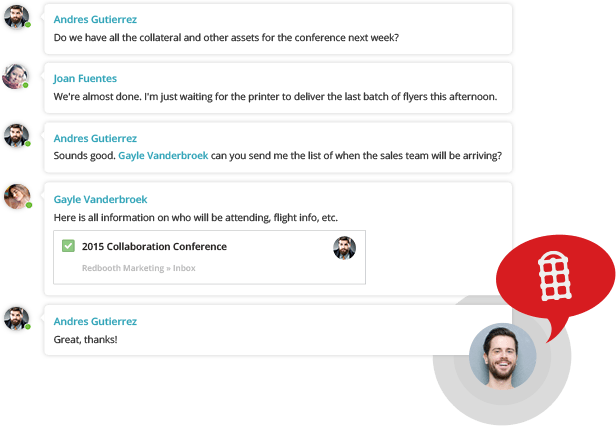Group chat - Online Project Management Tools & Collaboration Software
