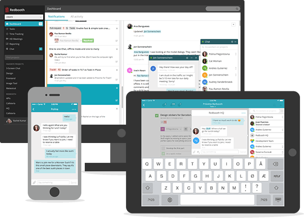 Chat app on all devices -  » Team Chat