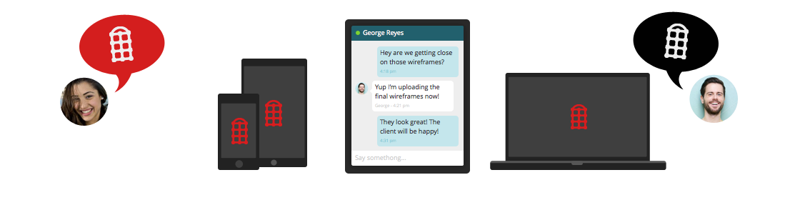 Redbooth's chat in all devices -  » Team Chat