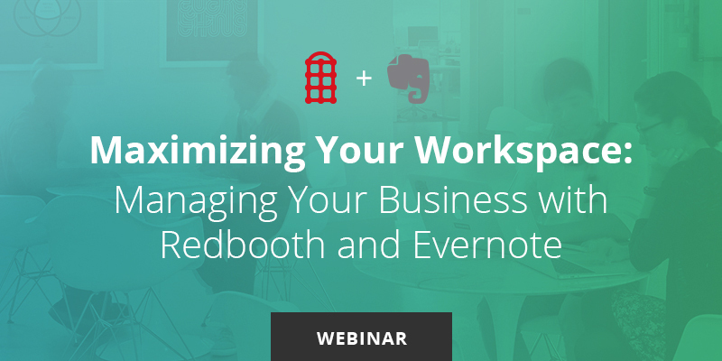 Redbooth and Evernote