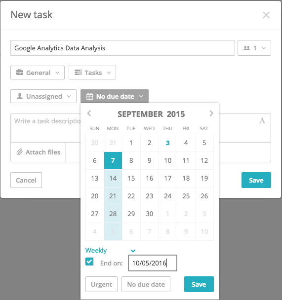 Client Project Management: Recurring Tasks