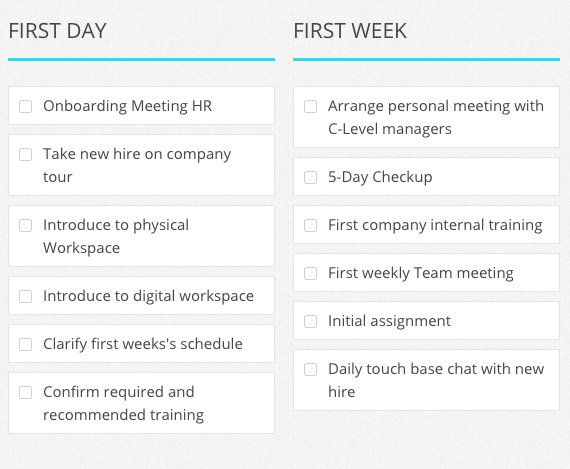 Workflow Templates for Marketing Finance HR More – Meeting List Template