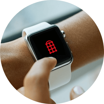 Apple Watch-App  - Mobile Zusammenarbeit