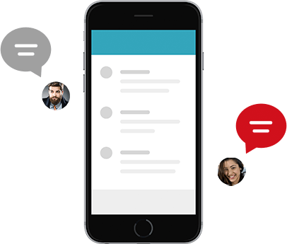 Chatea con tu equipo  - Colaboración móvil