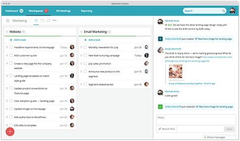 Shared workspaces -  » Business Collaboration