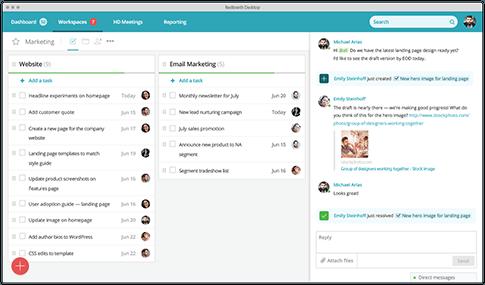 Espacios de trabajo compartidos - Colaboración empresarial
