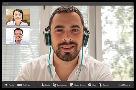 Vidéoconférence - Collaboration d'entreprise -