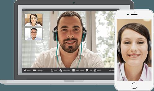 Reuniones más fáciles  - Videoconferencias en HD y reuniones online