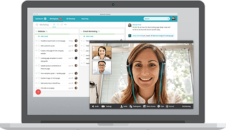 Remote team collaboration - Redbooth: Easy HD Video Conferencing and Online Meetings