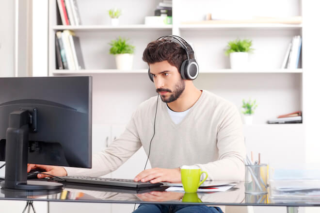 Working From Home: Invest in Headphones