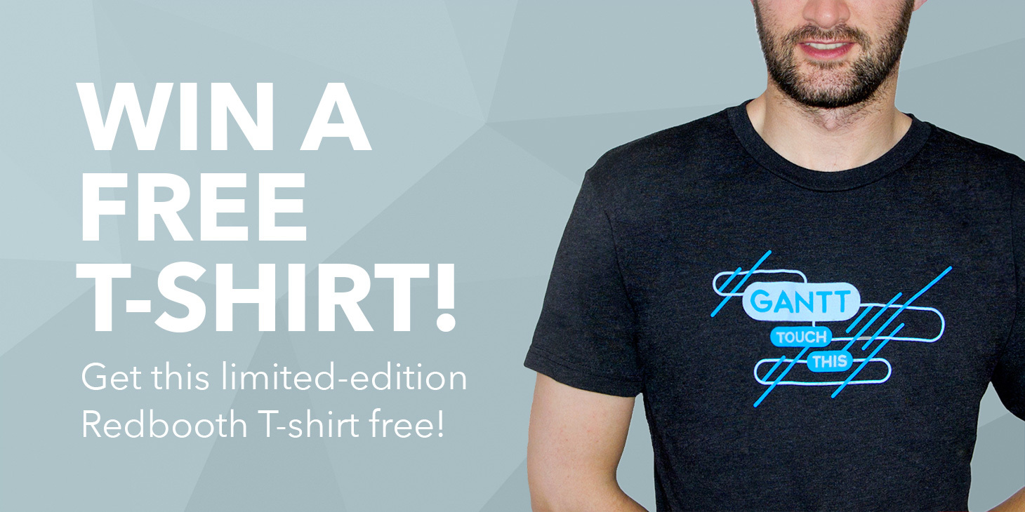 Enter to Win a Free Redbooth T-Shirt