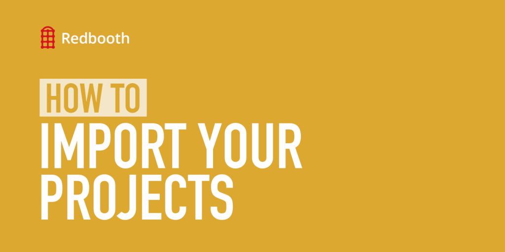 how to import your projects