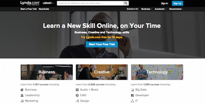 Teaching for Lynda.com