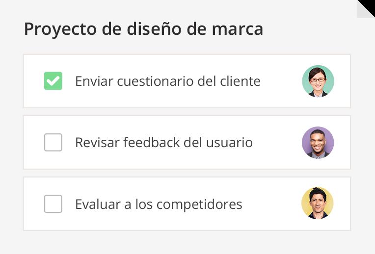 - Software de gestión de proyecto para los equipos de marketing