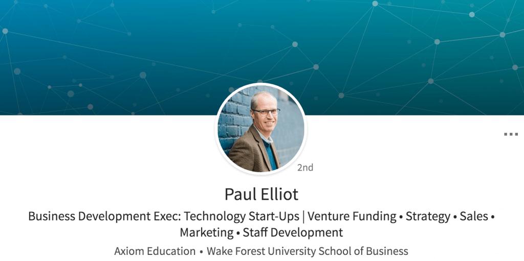 Paul Elliot LinkedIn